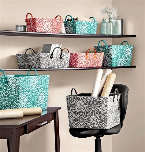 Color code your bins for optimal organization. #shopko