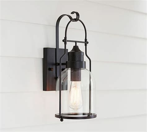 indoor outdoor sconce pottery barn
