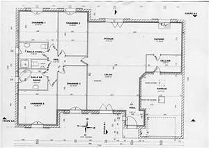 Plan de maison en bois gratuit plain pied 1 plan de maison for Plan de maison gratuit pdf