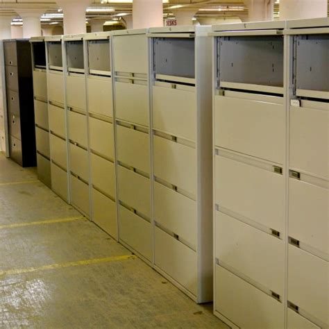 Used 5 Drawer Lateral File Cabinets   Office Furniture