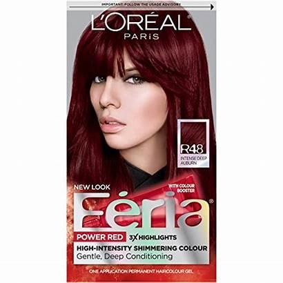 Feria Hair Auburn Intense Deep R48 Oreal