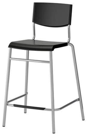 STIG Bar stool with backrest - Scandinavian - Bar Stools