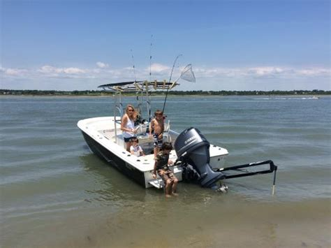 Fishing Boat Pole Anchor by Foto De Beach House Boat Rentals Murrells Inlet The