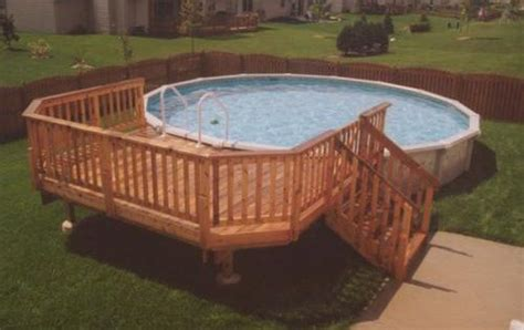 10' X 14' Deck For A 24' Pool At Menards