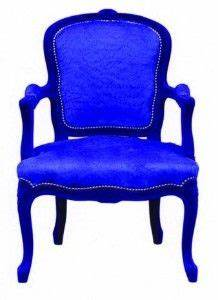 Wow Talk About An Accent Chair Royal Blue Chair With