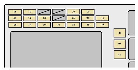Toyotum Matrix 2007 Fuse Box toyota matrix generation mk1 e130 2007 2008