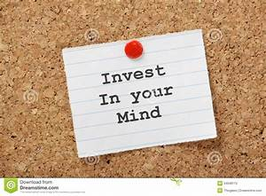 Invest In Your Mind stock image. Image of ahead, knowledge ...
