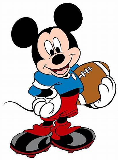 Mickey Mouse Disney Football Clip Clipart Lsu