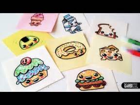 How to Draw Cute Food Drawings Easy