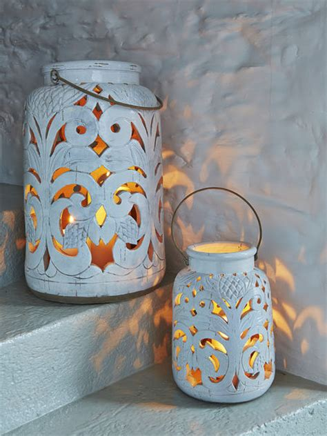 Antique White Lanterns