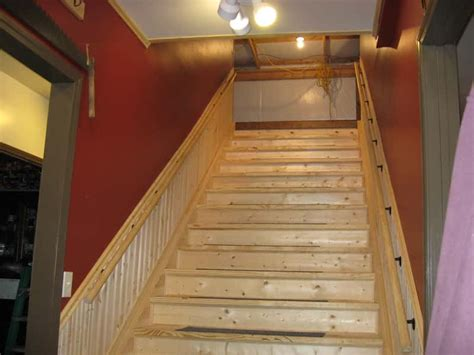 Wood Finished Stair Stringers By Fast-stairs.com