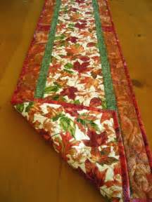 Autumn Quilted Table Runner