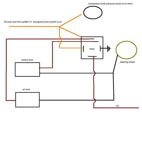 Horn Wiring Diagram With Relay Untpikapps