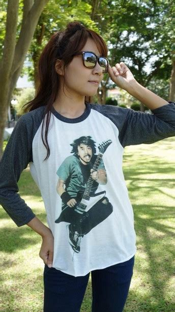 t shirt foo fighters dave grohl top tank top shirt