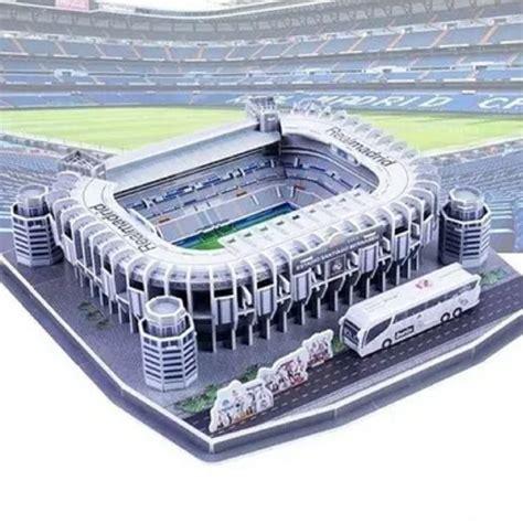 Real Madrid Santiago Bernabeu Football Stadium 3D Jigsaw ...
