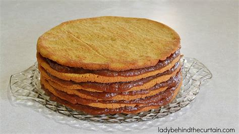 apple stack cake  molasses