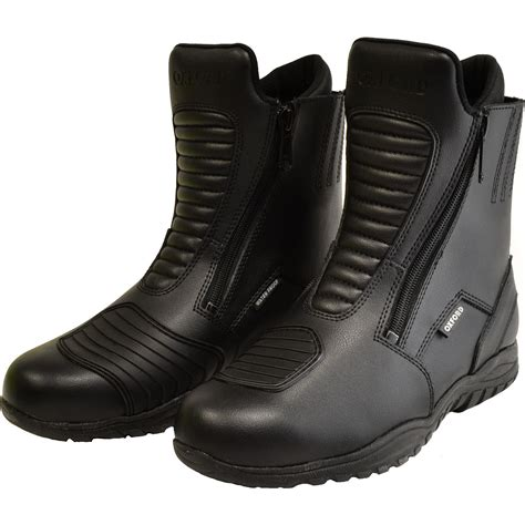 waterproof leather motorcycle boots oxford comanche short leather waterproof boots motorcycle
