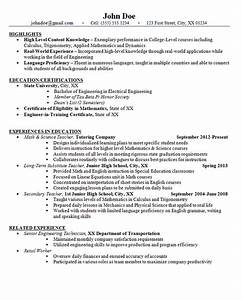 junior high school teacher resume example math and science With sample resume of a teacher in high school