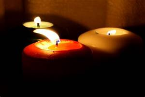 Three, Burning, Candles, Picture