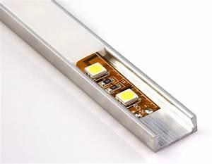 Led Strip Profil : low profile surface mount led profile housing for led strip lights micro alu series super ~ Buech-reservation.com Haus und Dekorationen
