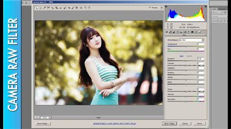 camera raw filter  jpeg file photoshop cs