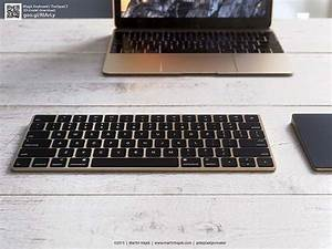 The Renderings Show Off Gold Imac  Magic Keyboard And