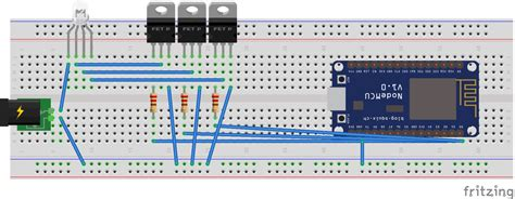 How To Fix 12v Rgb Led Strip Connection To Nodemcu