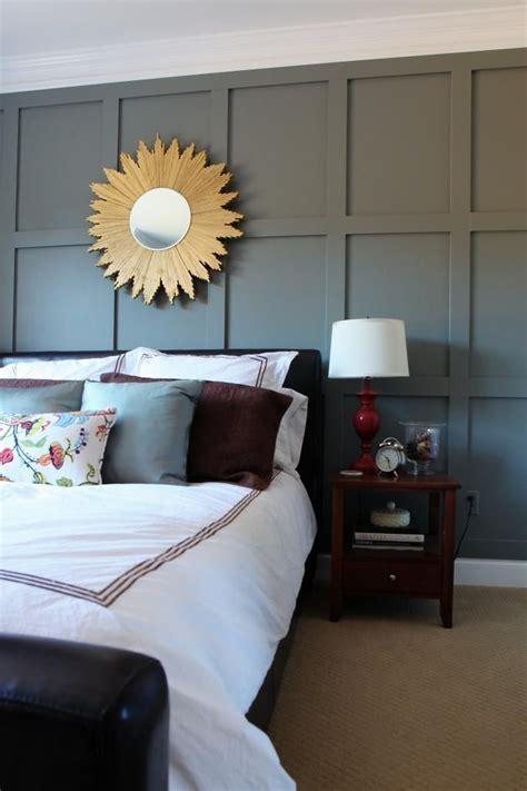decorating master bedroom walls 17 best ideas about gray accent walls on pinterest 15109 | 0c58e680b693b9913e255eb8f8d75256