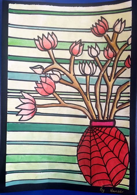 Art with Mrs Baker: Spring Magnolia Watercolour Paintings