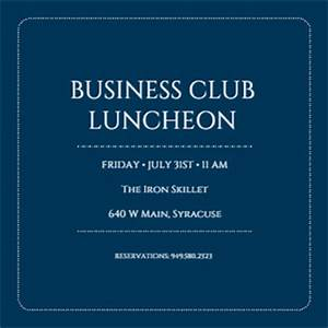 business event invitation templates free templates With corporate announcement template