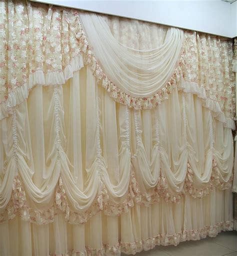 tende della finestra jacquard panneggio design custom made