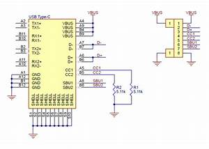 Usb 2 0 Type-c Connector Breakout Board