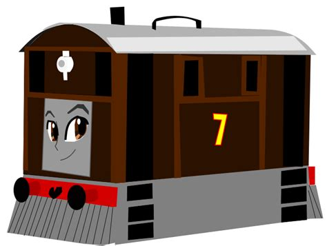 toby the tram engine by shawanderson on deviantart