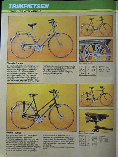 dunia lawas katalog sepeda gazelle