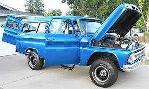 Rare 1965 Chevrolet K10 1406 2dr Carryall 4x4 Body Off