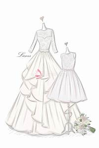 Drawing Of A Girl In A Wedding Dress Wedding Dress ...