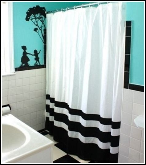teal black and white curtains curtains home design