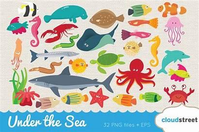 Sea Under Clipart Graphics Illustrations Clip Market