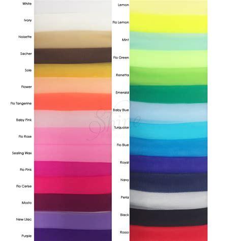 Nylon 20 Denier Sample Card Shine Trimmings And Fabrics