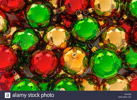 Red, Green And Gold Christmas Baubles Stock Photo, Royalty Shed Roof House Designs How To Fix A Leaky Faucet Kitchen Delta Leland Online Build Floor Plan Manufacturers Plans And Cost Pull Out Faucets