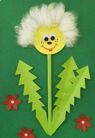 bildergebnis fuer fruehling im kindergarten basteln crafts  kids preschool crafts flower crafts