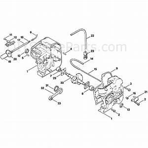 Stihl 009 Chainsaw  009  Parts Diagram  A