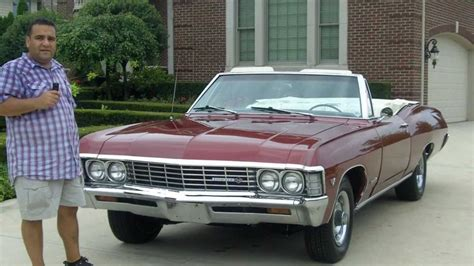 Chevy Impala Convertible Classic Muscle Car For