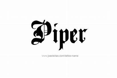 Piper Tattoo Paige Designs Female