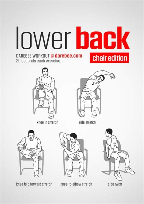 lower back workout chair www bacrac co uk relax