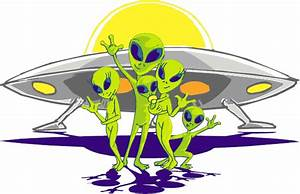 Ufo And Alien Clipart - Clipart Bay
