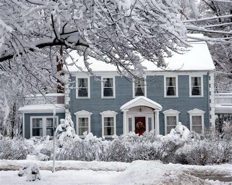 Snowy Vermont Home Ready by Dave Kiel Realtor Middleville Mi Caledonia Grand Rapids