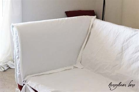 how to make a sofa cover without sewing how to make a couch slipcover part 1