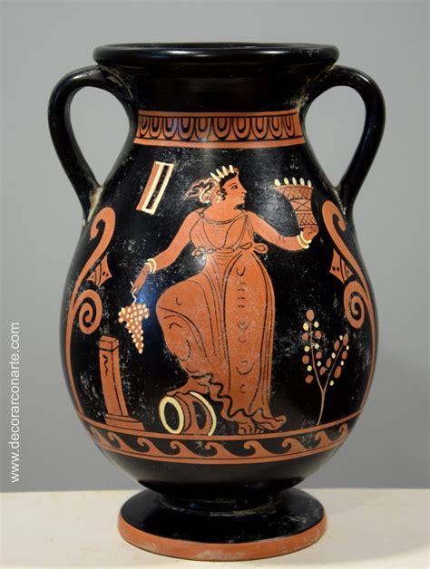 vasi etruschi buccheri pelega o pelike cer 225 mica griega altura 25cm venta de