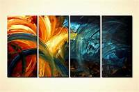artwork for home Painting for sale - original abstract home decor painting colorful #4453
